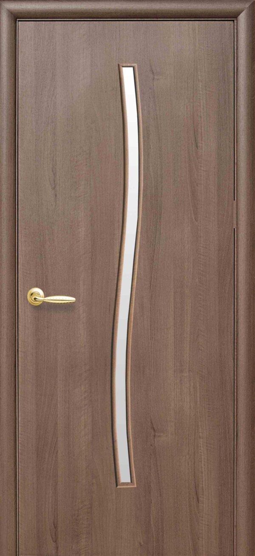 Межкомнатные двери ПВХ П27 со стеклом сатин 5