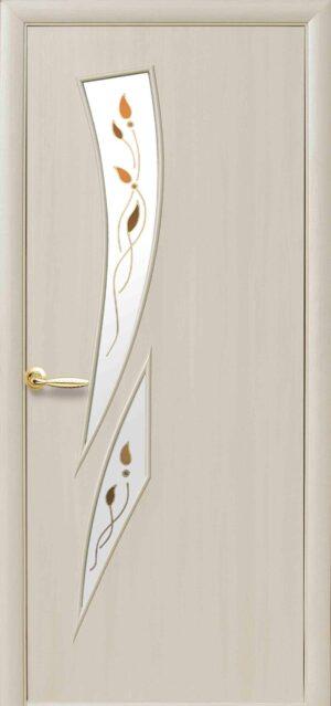 Межкомнатные двери ПВХ П29 дуб жемчужный