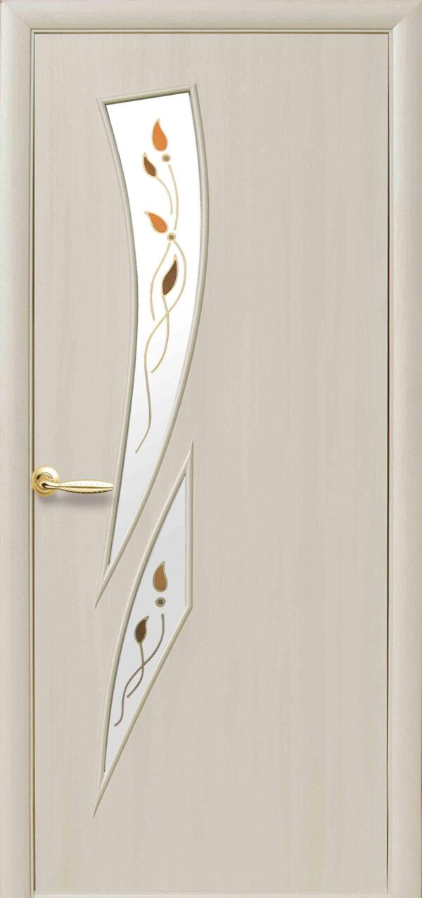 Межкомнатные двери ПВХ П29 дуб жемчужный 5