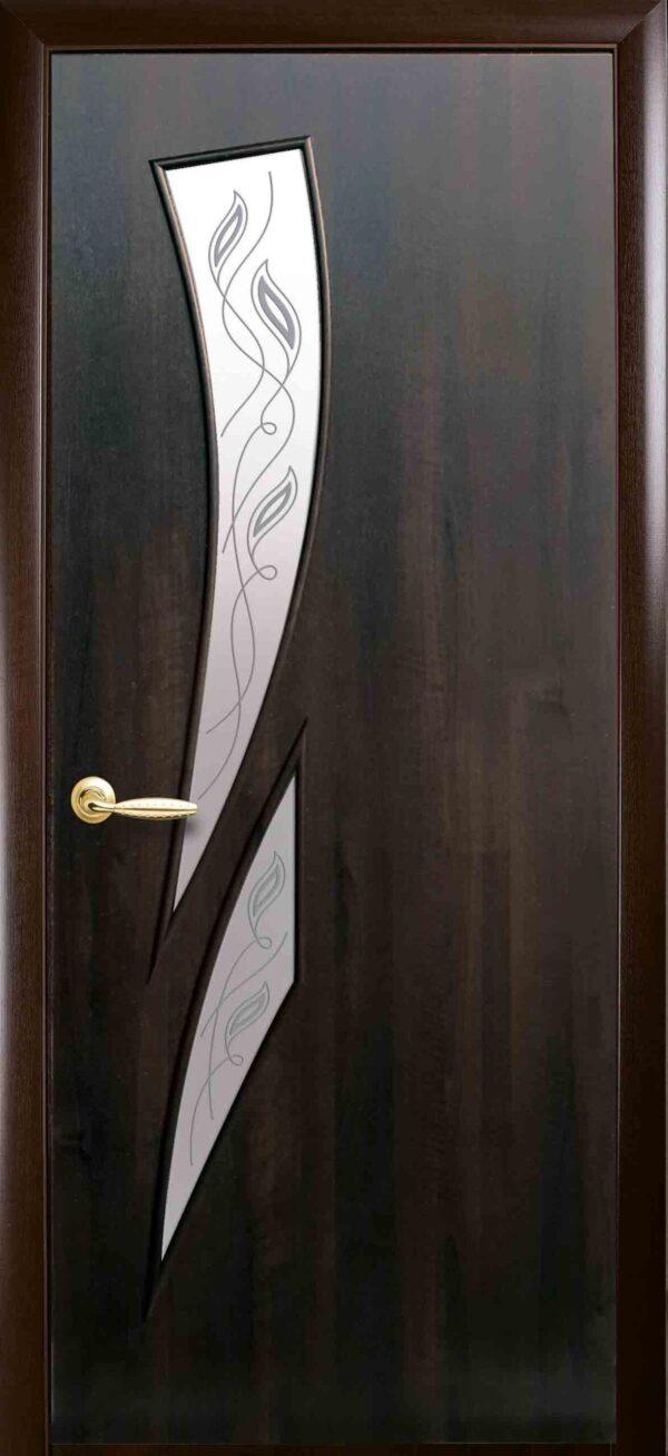 Межкомнатные двери ПВХ П29 кедр 5