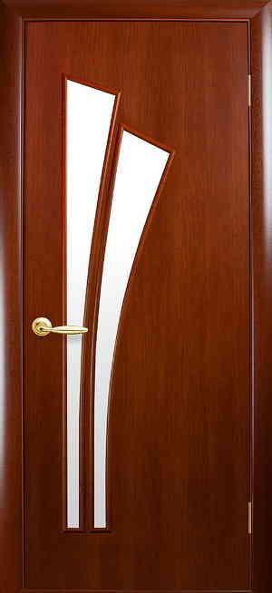 Межкомнатные двери ПВХ П30 каштан