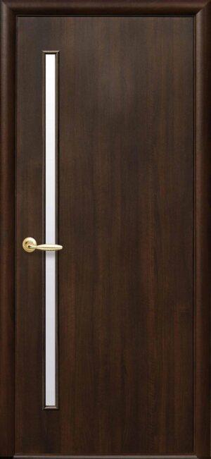 Межкомнатные двери ПВХ П32 каштан