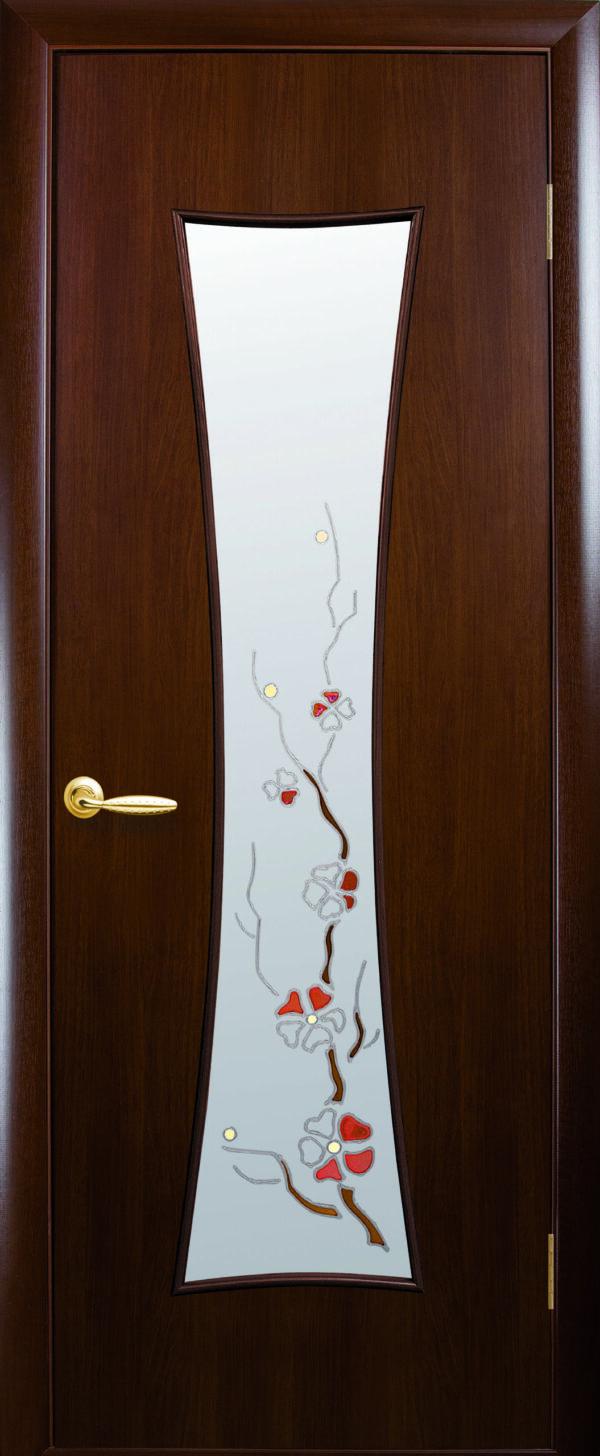 Межкомнатные двери ПВХ П33 золотая ольха 5