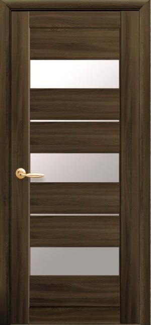 Межкомнатные двери ПВХ П38 со стеклом сатин 5