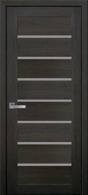 Межкомнатные двери ПВХ П43 орех 3d