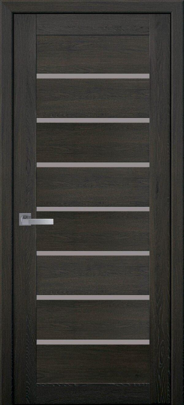 Межкомнатные двери ПВХ П43 орех 3d 5