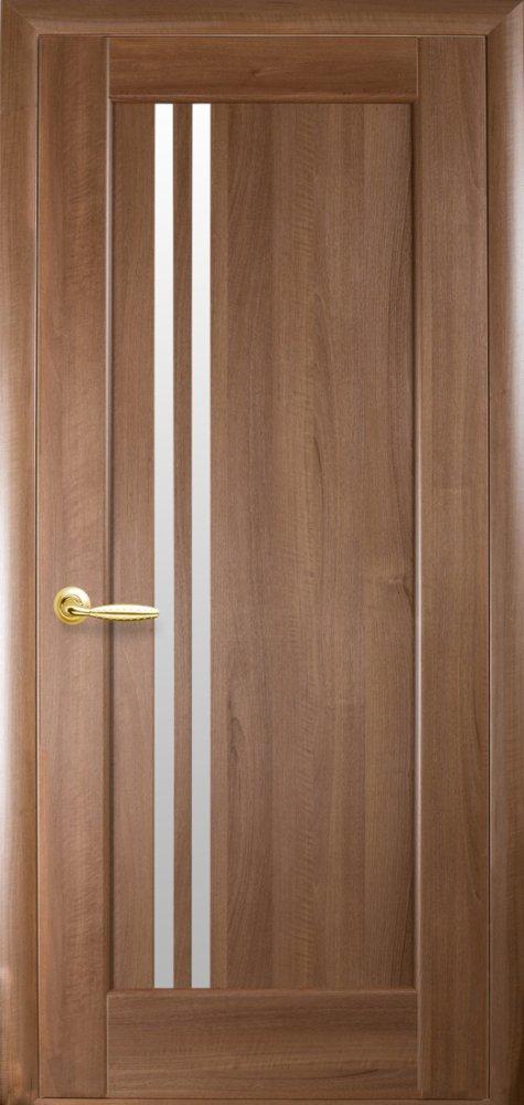 Межкомнатные двери ПВХ П8 со стеклом сатин 5