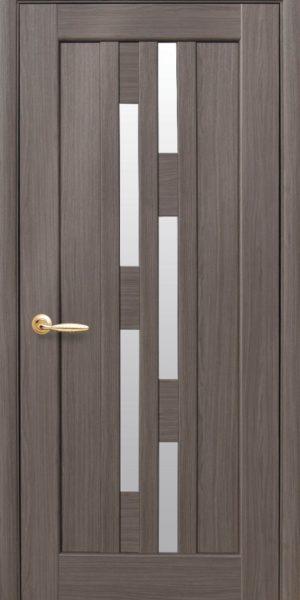 Межкомнатные двери ПВХ П9 со стеклом сатин