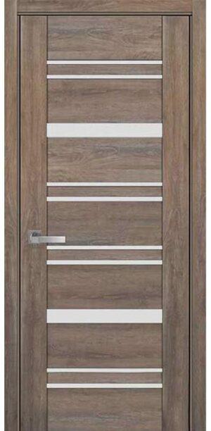 Межкомнатные двери ПВХ П47 ПО со стеклом сатин