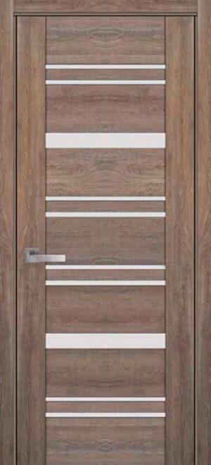 Межкомнатные двери ПВХ П48 ПО со стеклом сатин