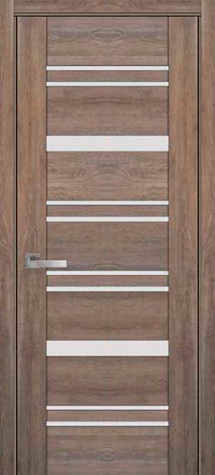 Межкомнатные двери ПВХ П48 ПО со стеклом сатин 5