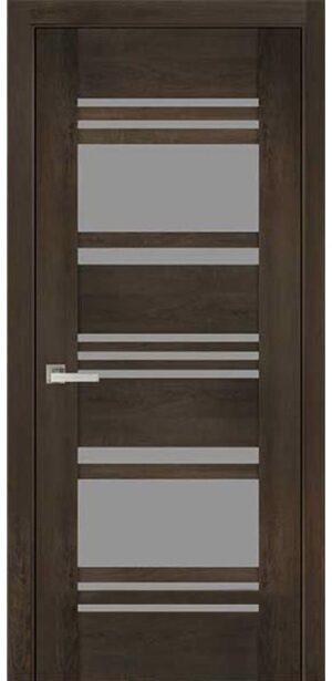 Межкомнатные двери ПВХ П49 ПО со стеклом сатин
