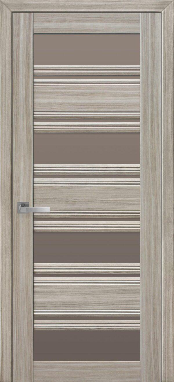 Межкомнатные двери ПВХ П51 ПО с бронзовым стеклом 5