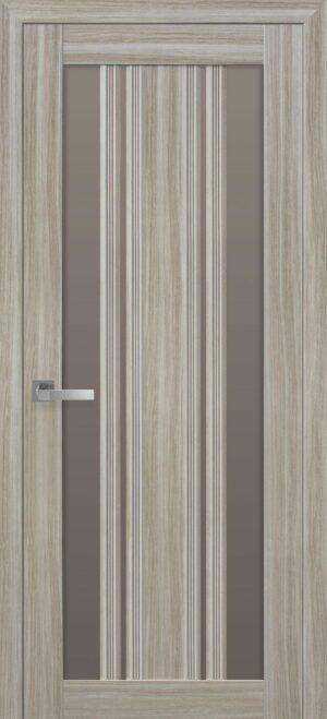 Межкомнатные двери ПВХ П53 ПО с бронзовым стеклом