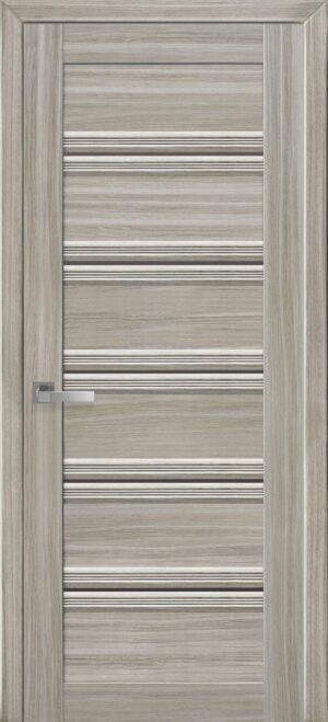Межкомнатные двери ПВХ П54 ПО с бронзовым стеклом