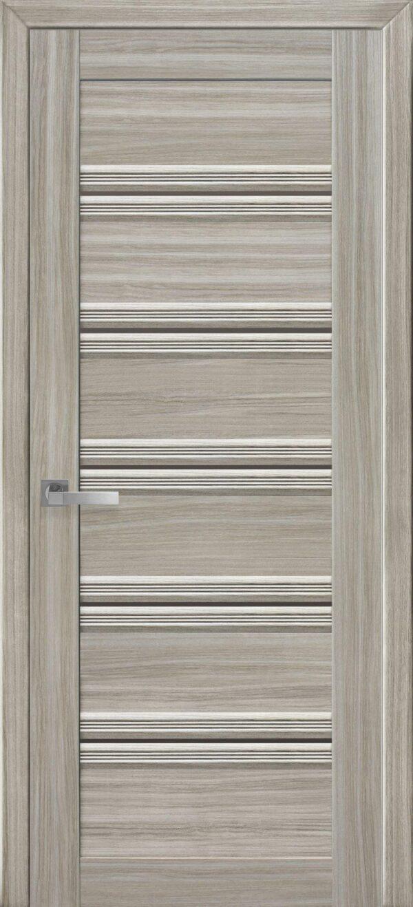 Межкомнатные двери ПВХ П54 ПО с бронзовым стеклом 5