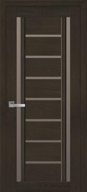 Межкомнатные двери ПВХ П56 ПО с бронзовым стеклом