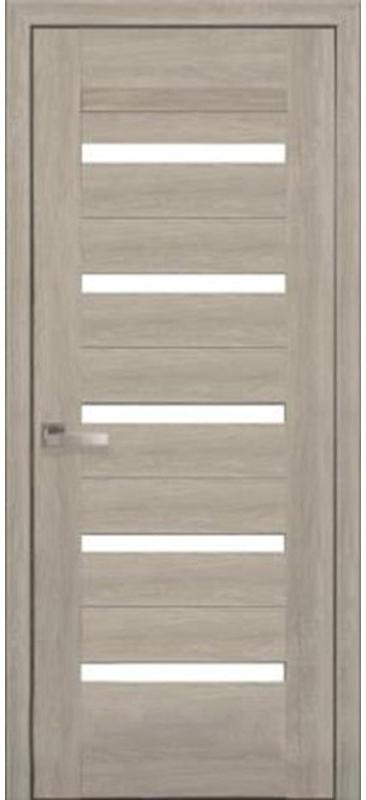 Межкомнатные двери ПВХ П58 ПО со стеклом сатин 5