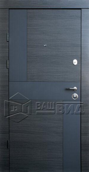 Дверь Стиль-М двухцветная (входная квартира)