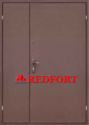 Дверь Техническая 2 листа металла (входная улица)