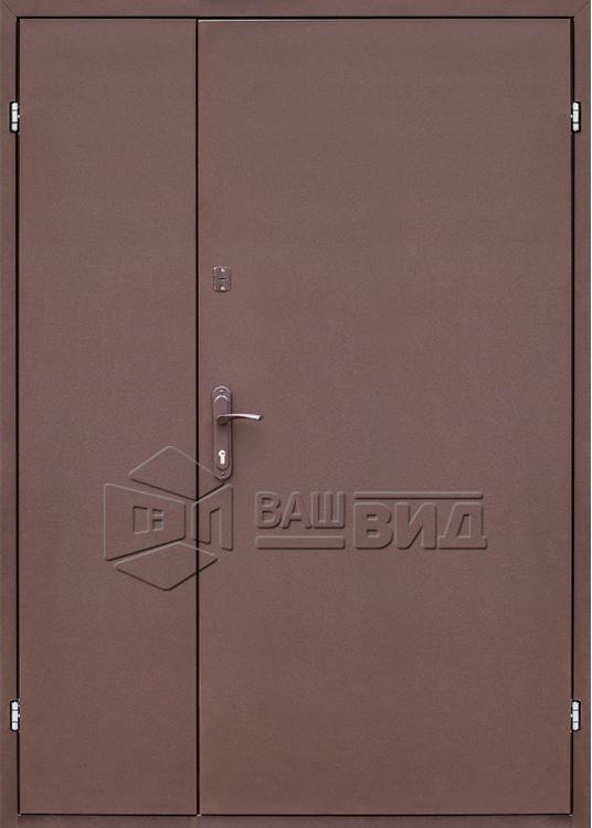 Дверь Техническая 2 листа металла (входная улица) 5