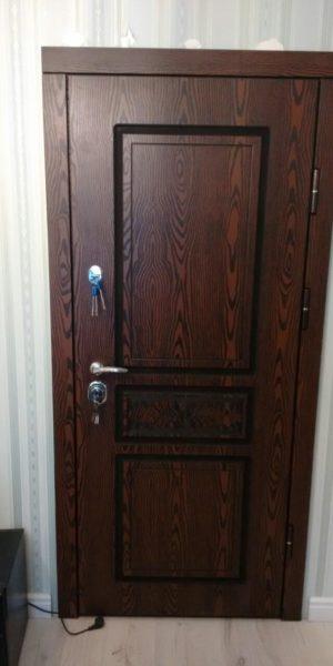Входные двери НПВП №8 Полимер (Распродажа)