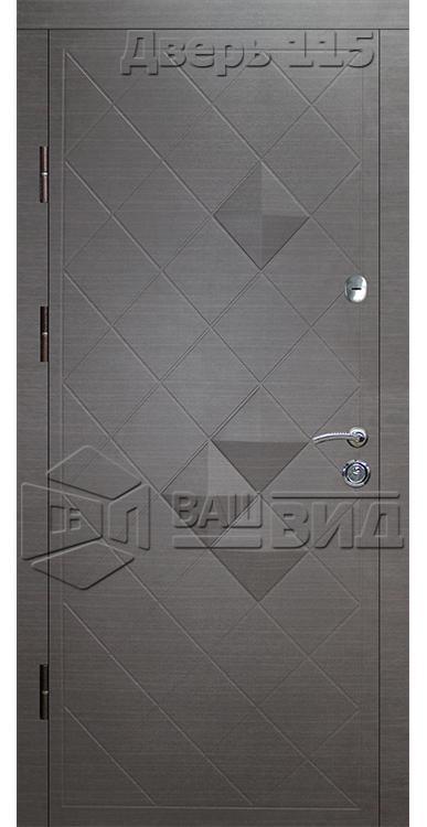 Дверь Ромб 1 (входная квартира) 5