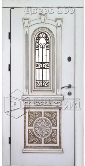 Дверь Рим 4 плюс решётка 38 (входная улица)