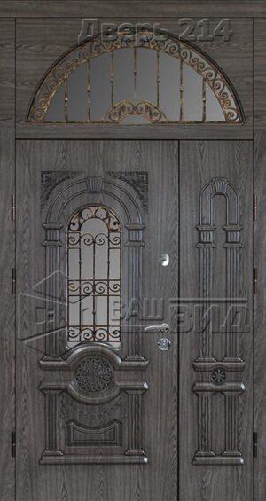 Дверь Рим 3 плюс решётка 14 (входная улица)