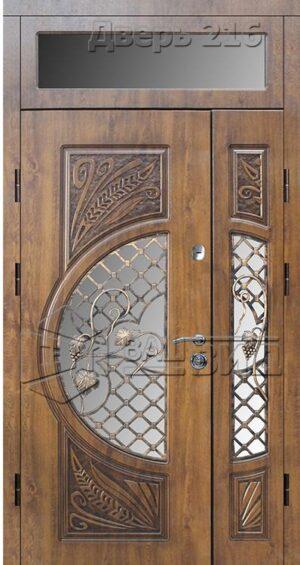 Дверь БП 14 плюс решётка 20 (входная улица)