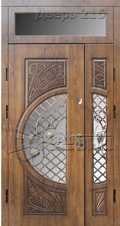 Дверь БП 14 плюс решётка 20 (входная улица) 5