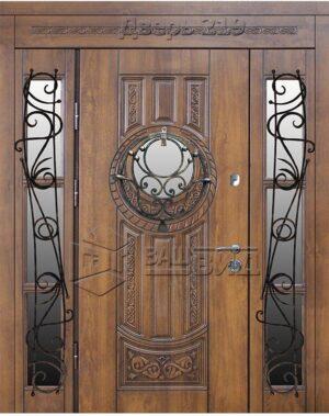 Дверь БП 61 плюс решётка 40, 37 (входная улица)