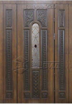 Дверь БП 6 плюс решётка 3 (входная улица)