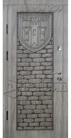Дверь Эскиз (входная улица)