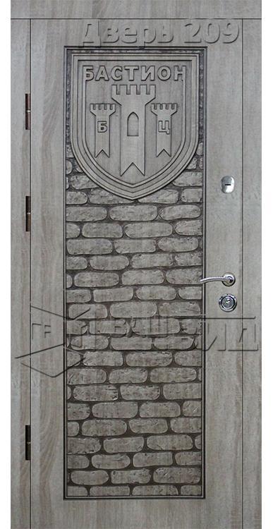 Дверь Эскиз (входная улица) 5