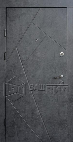 Дверь Флеш двухцветная (входная квартира)