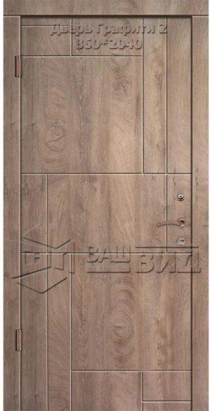 Дверь Графити 2 860*2040 (входная квартира)