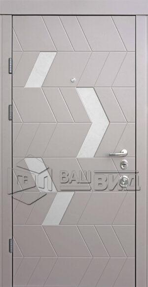 Дверь Конверс-М двухцветная (входная квартира)