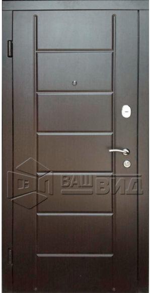 Дверь Милано 4 двухцветная (входная квартира)