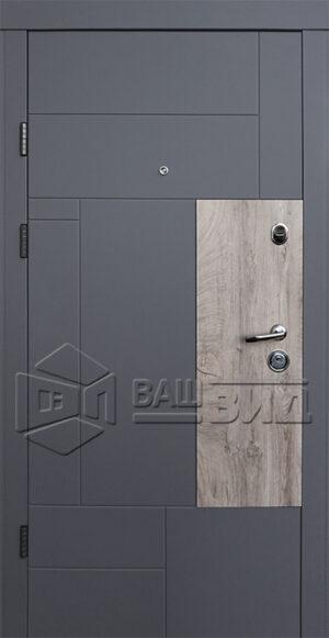 Дверь Прайм-М двухцветная (входная квартира)