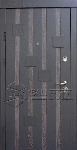 Дверь Рондо двухцветная (входная квартира)