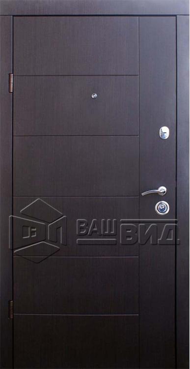 Двери Аризона ваниль (входные квартира) 5
