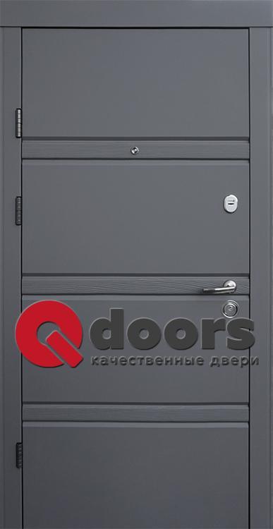 Двери Грация (входные квартира) 5