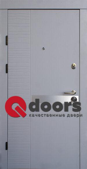 Двери Делла-AL 850*2050 (входные квартира)