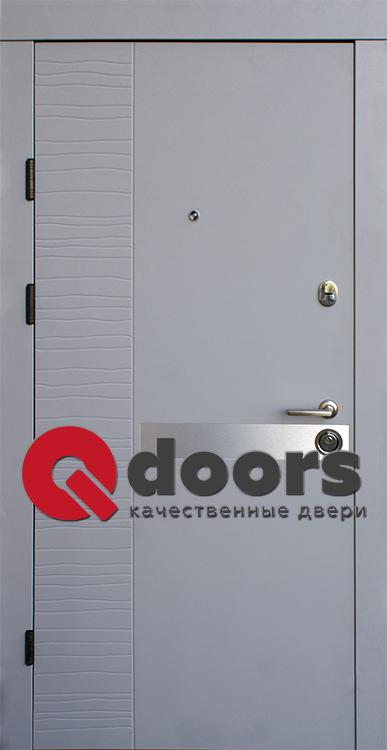 Двери Делла-AL (входные квартира) 5
