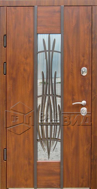 Двери Авеню с ковкой (входные улица) 5