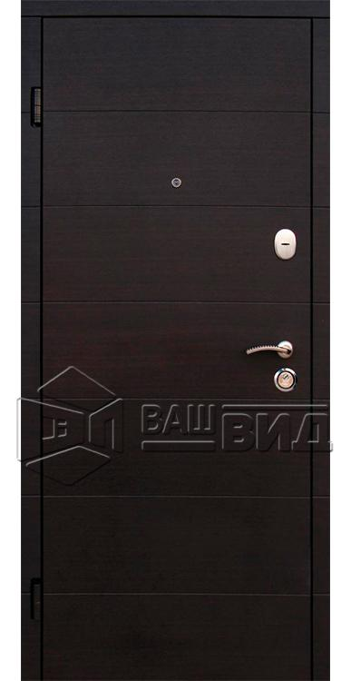 Двери Элегант 2 цвета рамы (входные квартира) 5