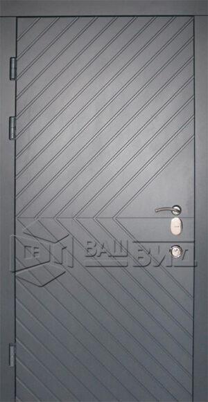 Дверь Эскада двухцветная (входная улица)