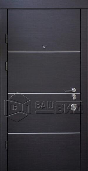 Двери Горизонт-AL двухцветные (входные квартира)