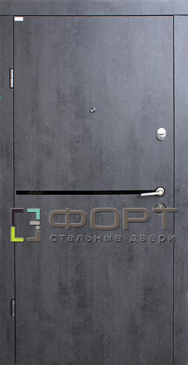 Двери Лита Black (входные квартира) 5